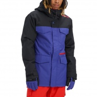 Burton - Covert Royal Blue Black Mens Snowboard Jacket